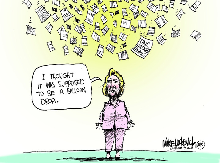 Mike Luckovich for Jul 26, 2016