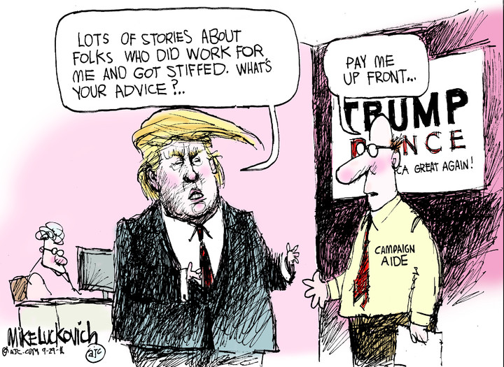 Mike Luckovich for Sep 29, 2016