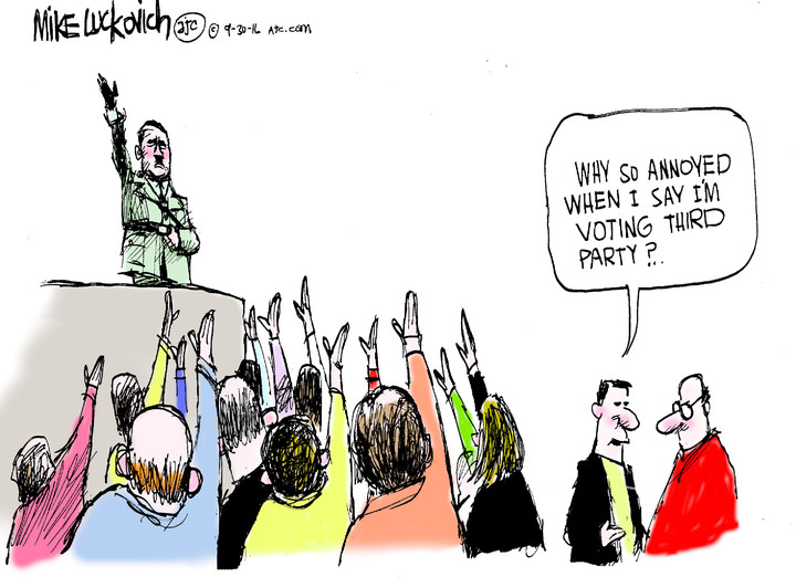 Mike Luckovich for Sep 30, 2016