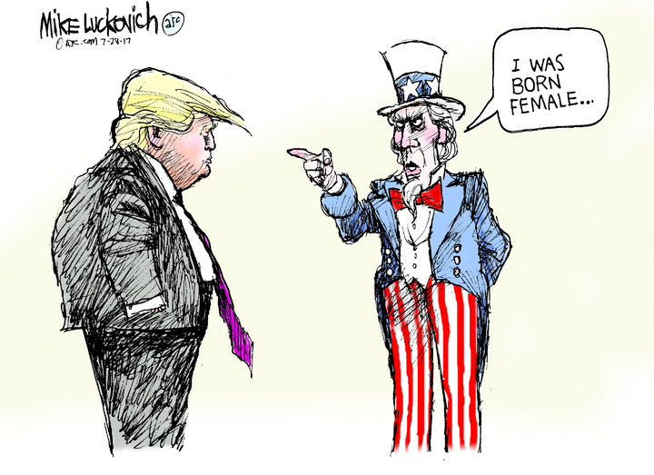 Mike Luckovich for Jul 28, 2017