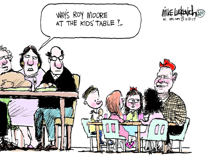 Mike Luckovich for Nov 21, 2017