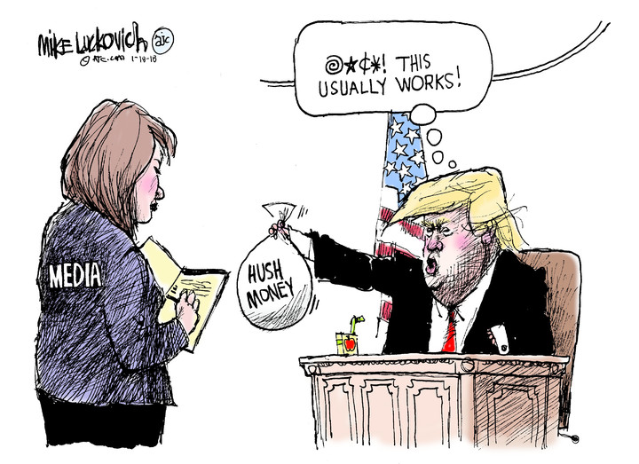 Mike Luckovich for Jan 18, 2018