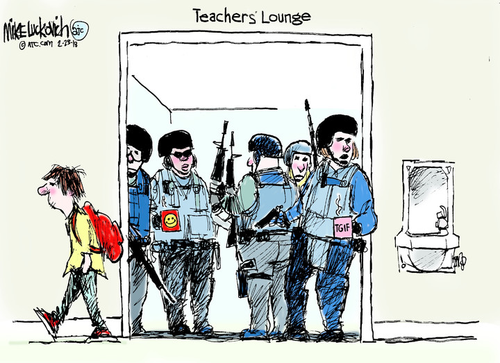 Mike Luckovich for Feb 23, 2018
