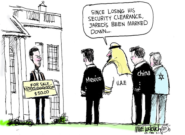 Mike Luckovich for Mar 01, 2018