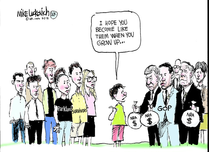 Mike Luckovich for Mar 02, 2018