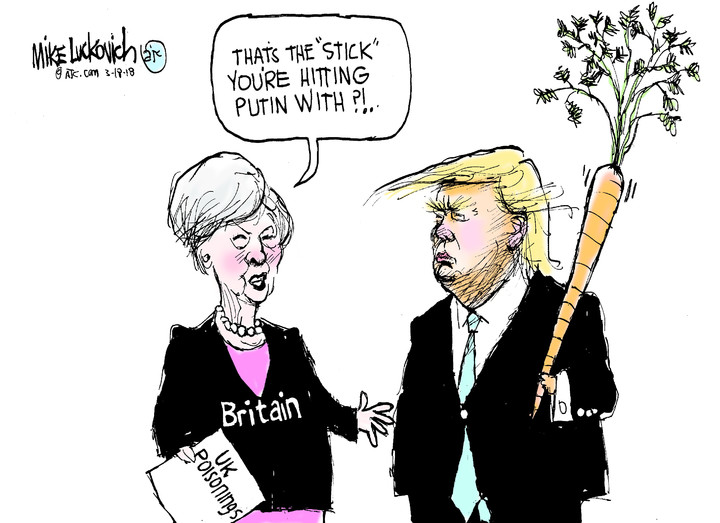 Mike Luckovich for Mar 18, 2018