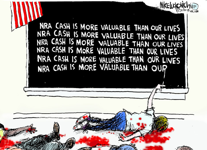 Mike Luckovich for May 22, 2018