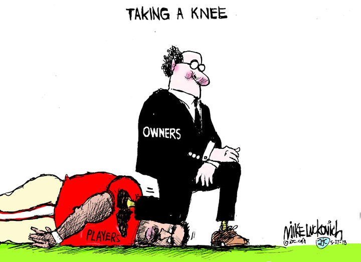 Mike Luckovich for May 27, 2018