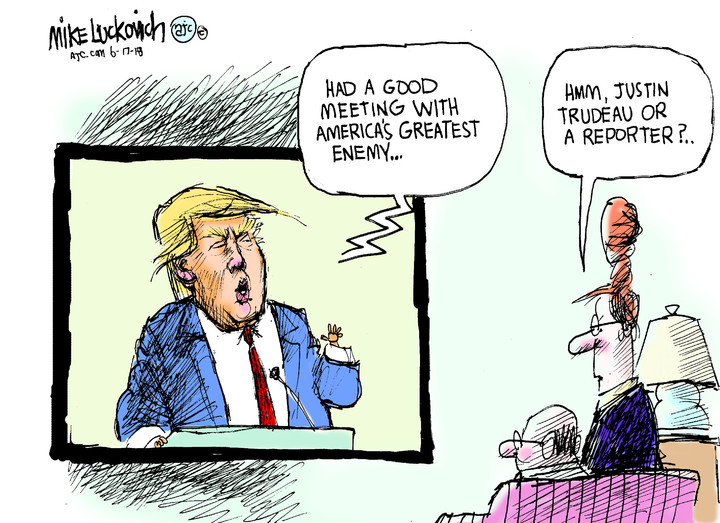 Mike Luckovich for Jun 17, 2018