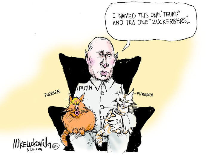 Mike Luckovich for Nov 18, 2018