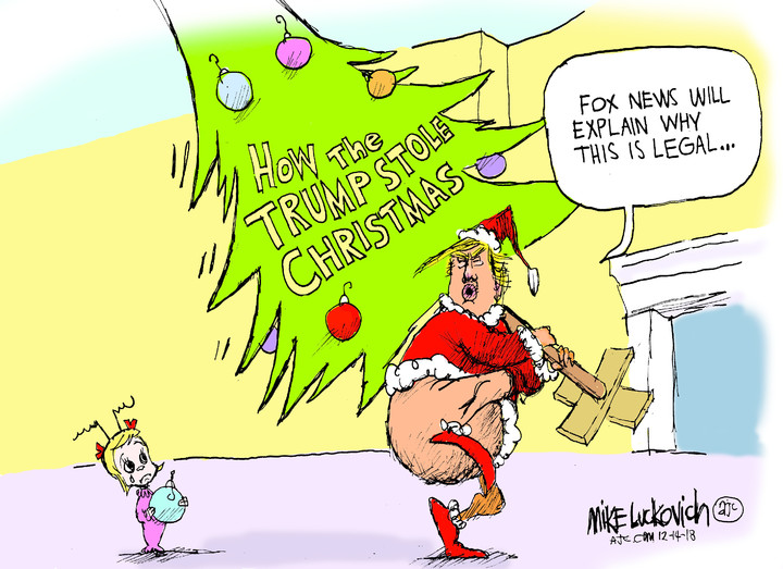 Mike Luckovich for Dec 16, 2018