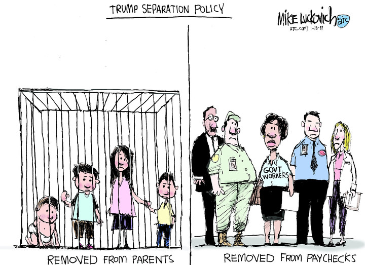 Mike Luckovich for Jan 13, 2019