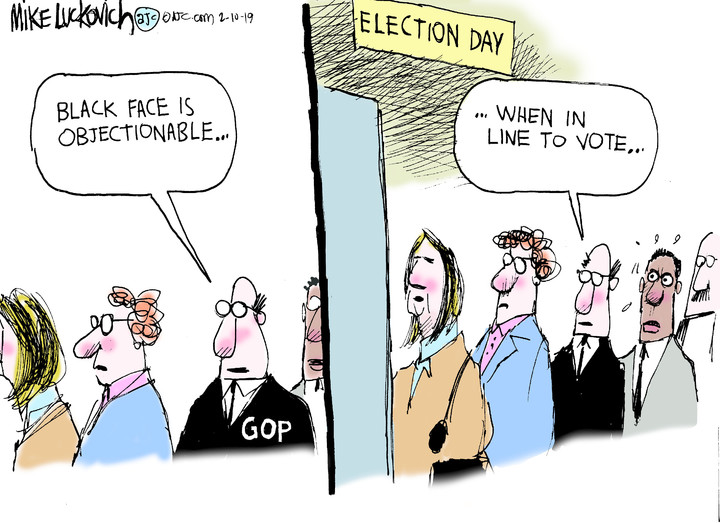 Mike Luckovich for Feb 10, 2019