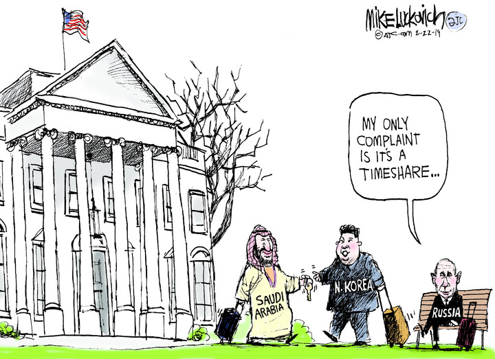 Mike Luckovich for Feb 22, 2019