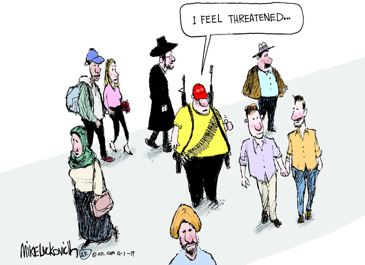 Mike Luckovich for Dec 01, 2019