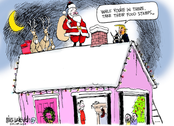 Mike Luckovich for Dec 08, 2019
