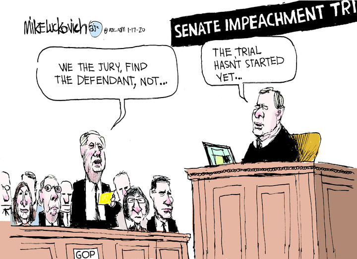 Mike Luckovich for Jan 17, 2020
