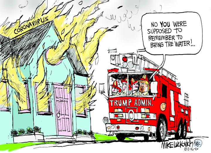 Mike Luckovich for Feb 26, 2020