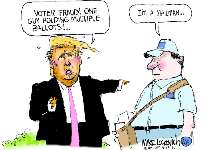 Mike Luckovich for May 22, 2020