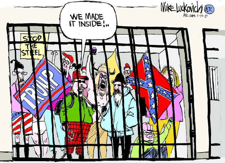 Mike Luckovich for Jan 17, 2021