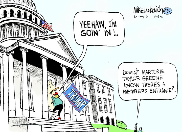 Mike Luckovich for Feb 02, 2021