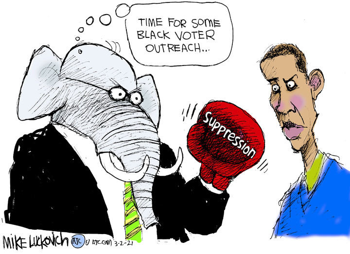 Mike Luckovich for Mar 02, 2021