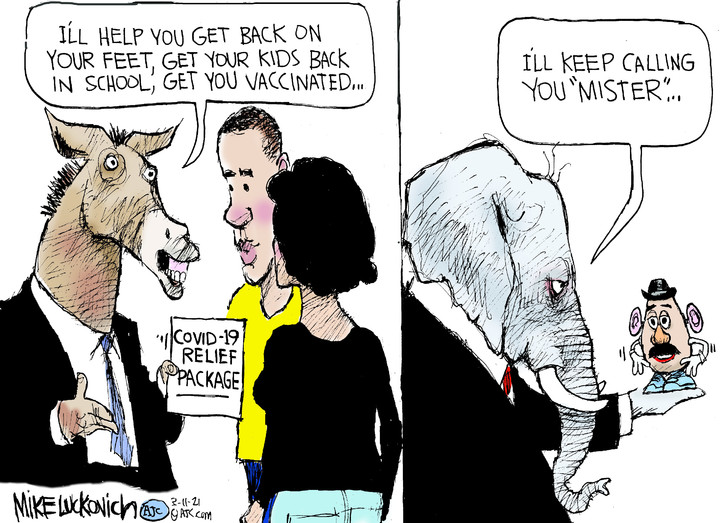Mike Luckovich for Mar 11, 2021