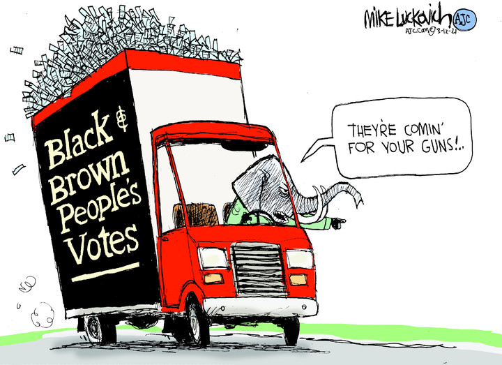 Mike Luckovich for Mar 12, 2021