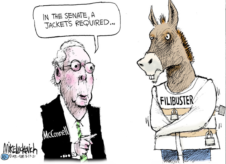 Mike Luckovich for Mar 17, 2021