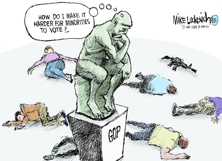 Mike Luckovich for Mar 24, 2021