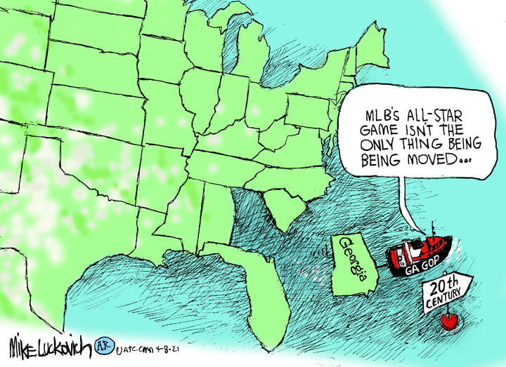 Mike Luckovich for Apr 08, 2021