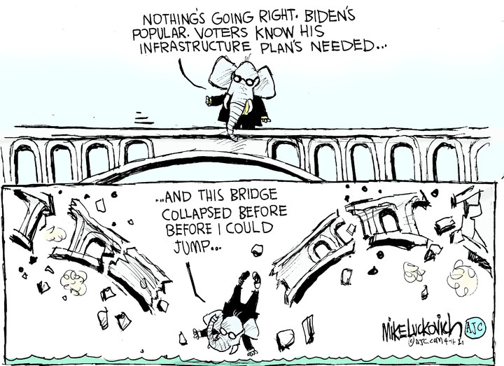 Mike Luckovich for Apr 11, 2021