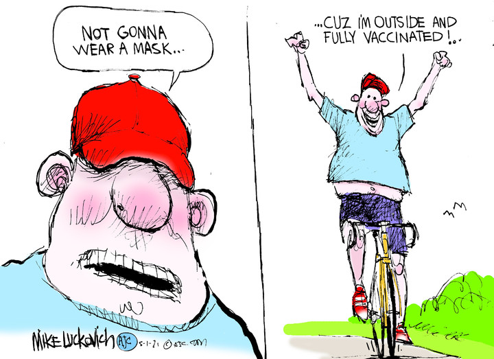 Mike Luckovich for May 01, 2021