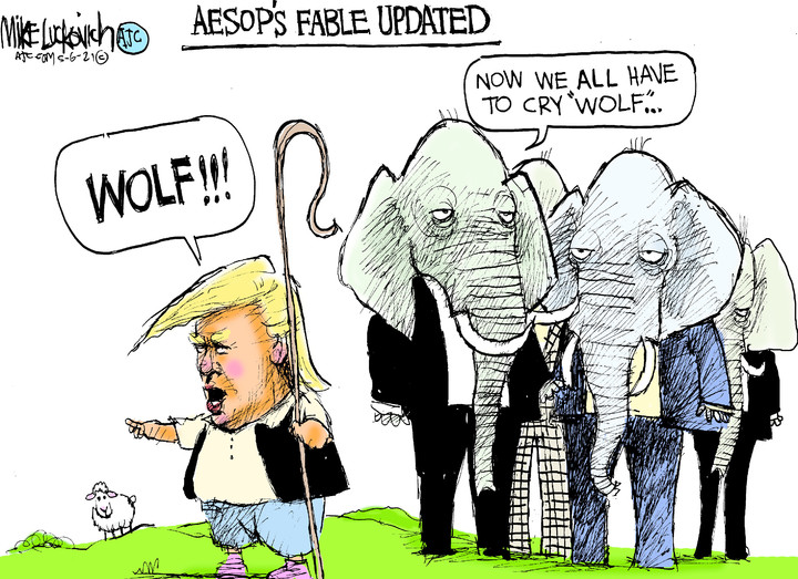 Mike Luckovich for May 06, 2021
