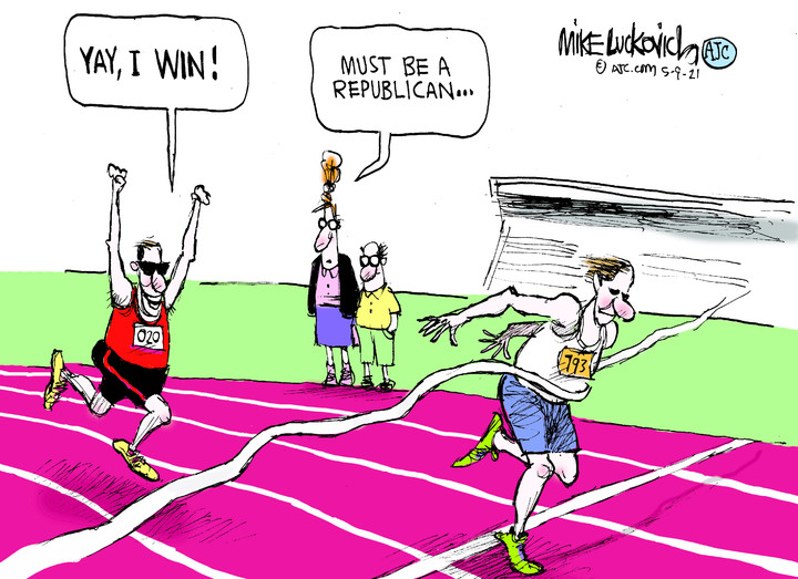 Mike Luckovich for May 09, 2021