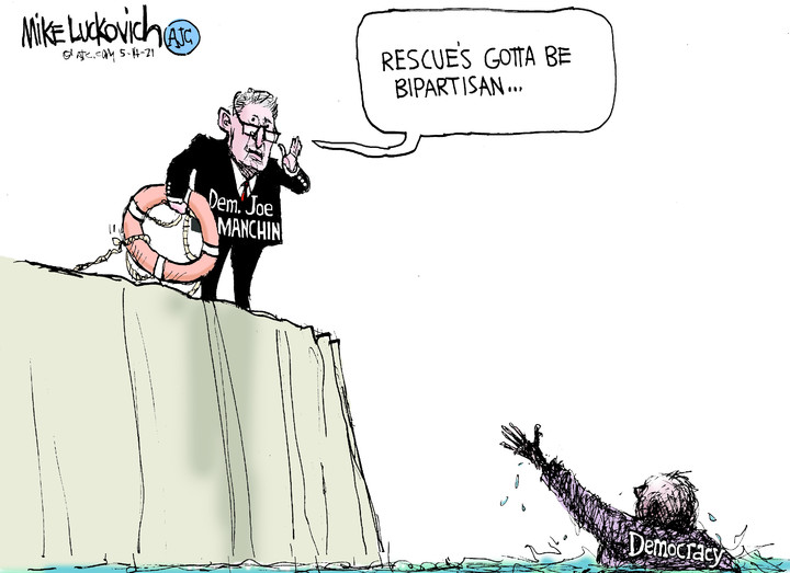 Mike Luckovich for May 14, 2021