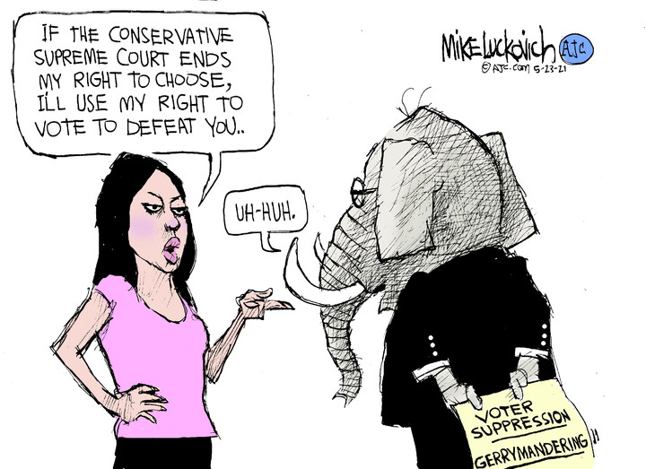 Mike Luckovich for May 23, 2021