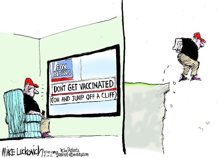 Mike Luckovich for Jul 11, 2021