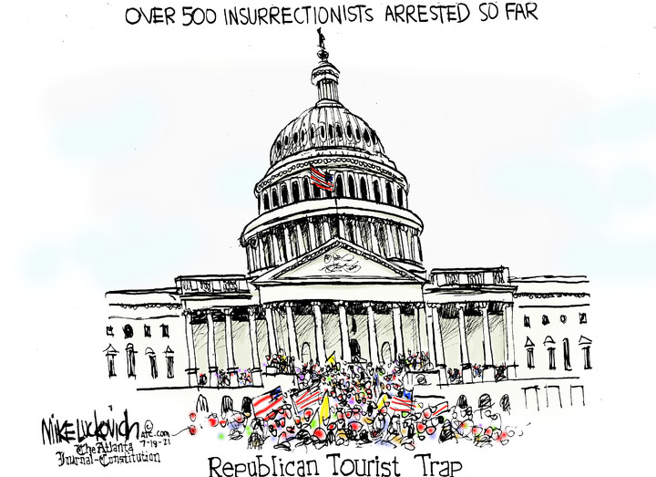 Mike Luckovich for Jul 18, 2021