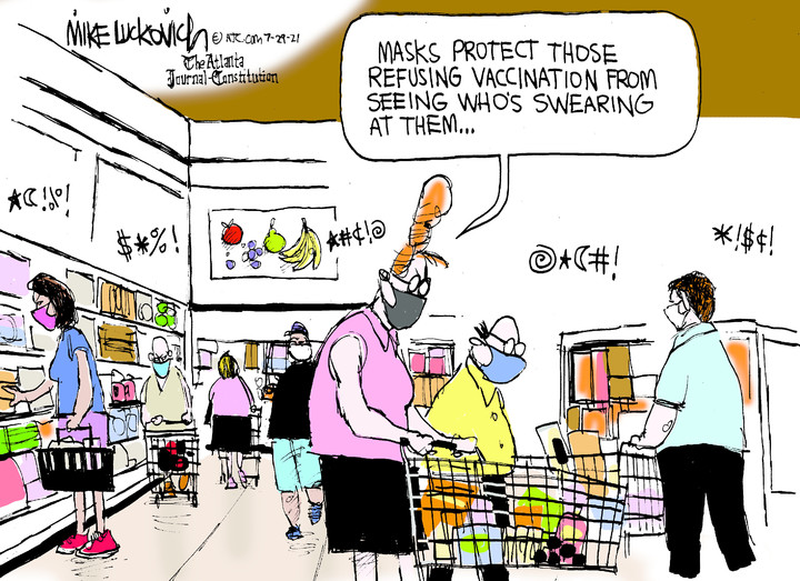 Mike Luckovich for Jul 29, 2021
