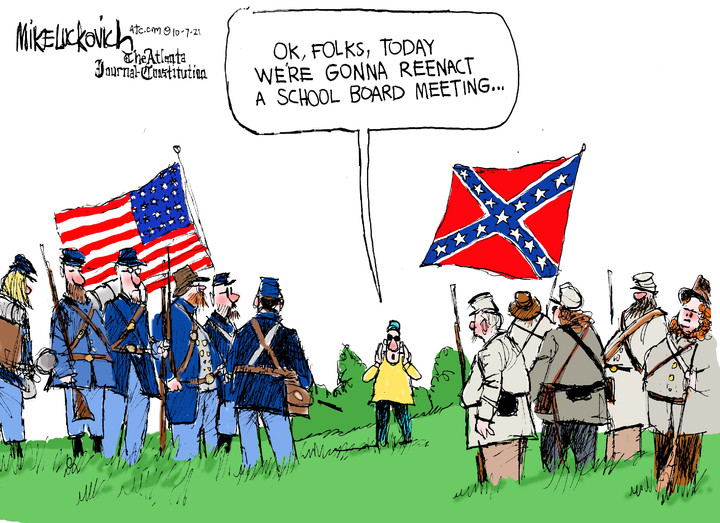 Mike Luckovich for Oct 07, 2021