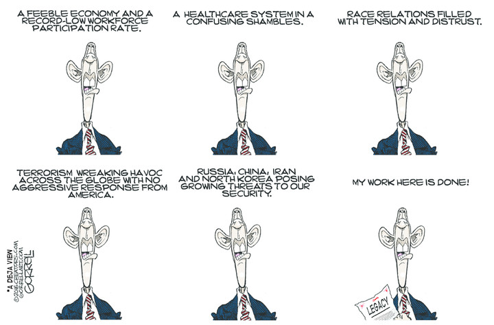 Obama's self-revealing final act