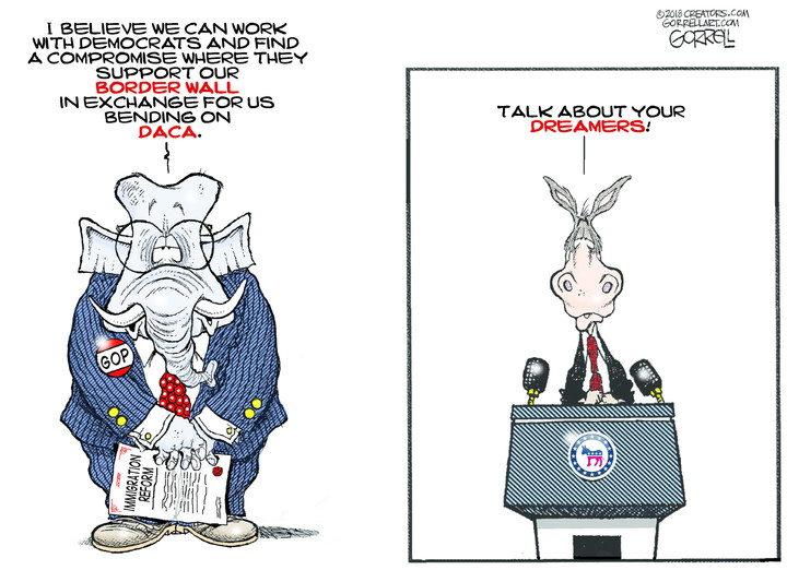 Bob Gorrell for Jan 10, 2018