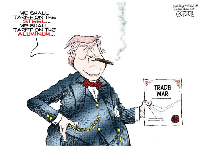 Bob Gorrell for Mar 06, 2018