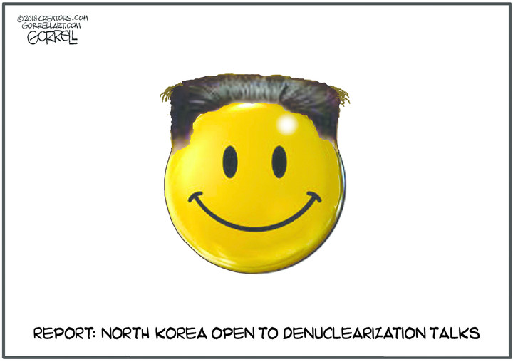 Bob Gorrell for Mar 08, 2018