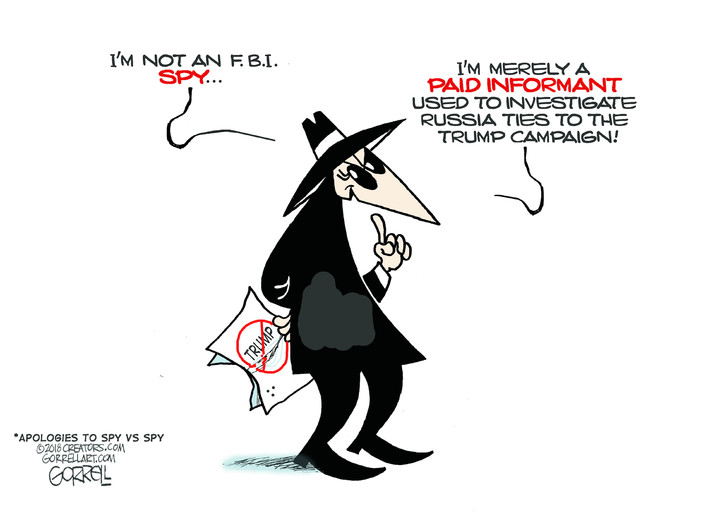 Bob Gorrell for May 22, 2018