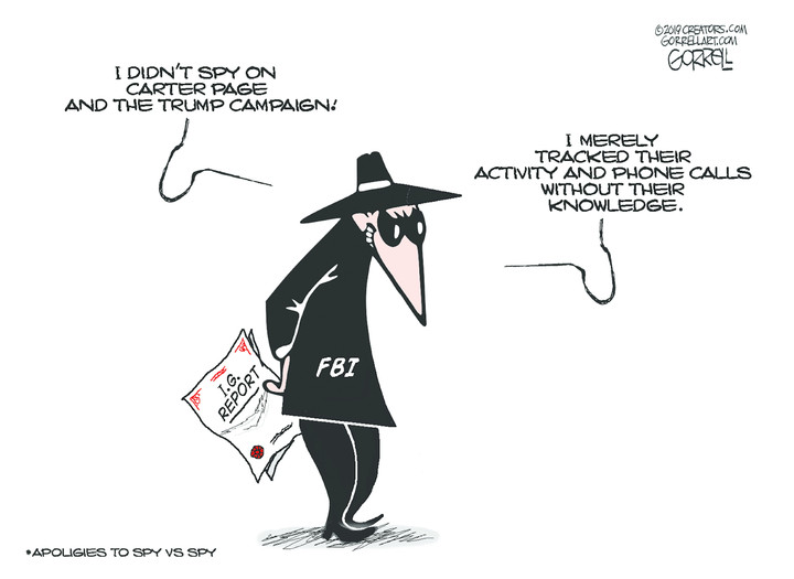 The FBI inspector general's report has bad news for Dems, too