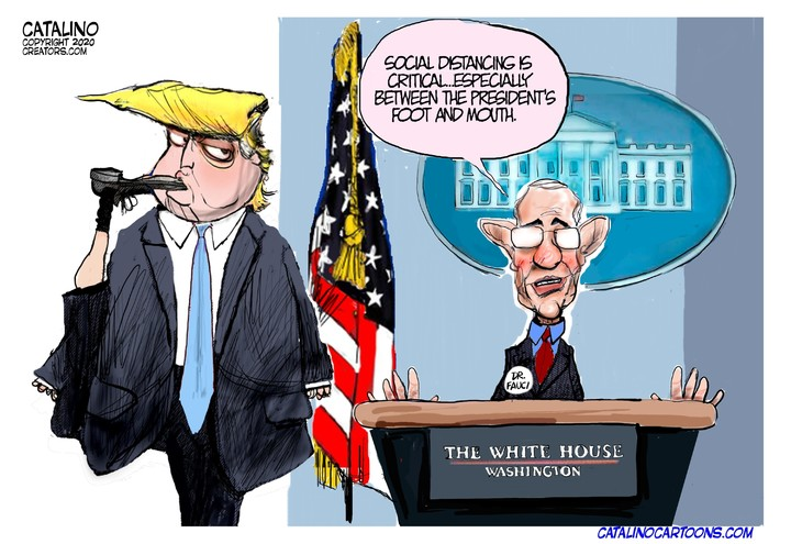 Ken Catalino for Mar 25, 2020