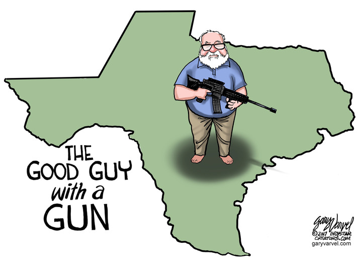 A good man with a gun did what he had to do in Texas