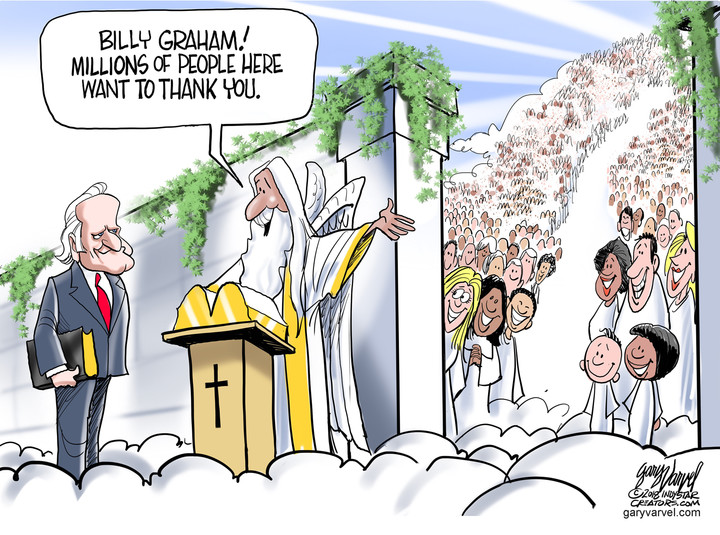 Billy Graham in the belly of the beast